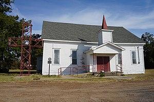 Ben Franklin, Texas - Ben Franklin United Methodist Church in October 2015