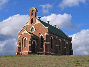 Benambra, Victoria - The Benambra Uniting Church, erected 1905