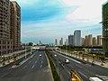 Bengbu Huaishang Ave. and Beijing - Shanghai Railway.jpg