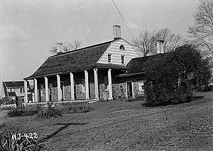 Benjamin P. Westervelt House - (HABS, 1938)