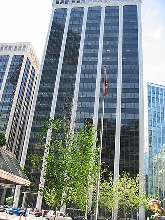 Bentall Centre, Vancouver - One Bentall Centre.