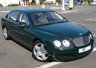 Bentley Continental Flying Spur (2005) - Image: Bentley Continental Flying Spur 3