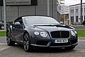 Bentley Continental GT V8 (II) – Frontansicht (1), 5. April 2012, Düsseldorf.jpg