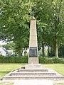 Berg en Dal (Groesbeek) Zevenheuvelenweg oorlogsmonument (01) zuil.JPG