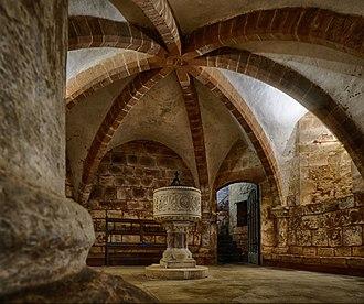 Berkswell - The crypt of St John the Baptist's church