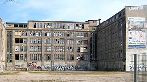 Former factory buildings of the Secura-Werke a...