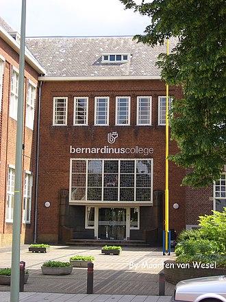 Bernardinuscollege - Bernardinuscollege main entrance