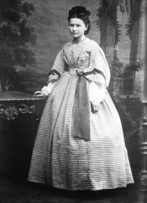 Bertha Benz - Bertha Benz at age 18, circa 1867