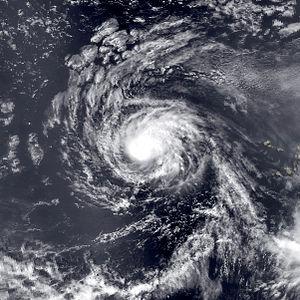 1982 Atlantic hurricane season - Image: Beryl aug 30 1982 1649Z