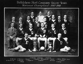 Bethlehem Steel F.C. (1907–30) - The team that won the national title in 1917–18.