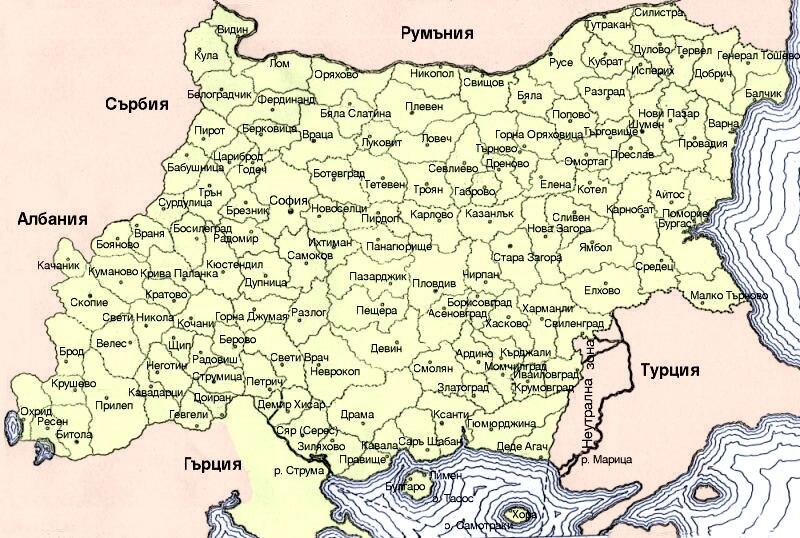 Bg IIWW MAP