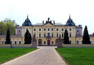 Tylman van Gameren - Image: Białystok, Pałac Branickich (pn wsch)
