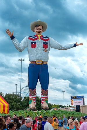 Big Tex - The newly reconstructed Big Tex at his unveiling, September 27, 2013.