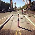 Bike Boulevard on University Boulevard (8139681876).jpg