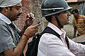 Bikers with Mobile Phone - Barrackpore 2012-04-11 9529.JPG