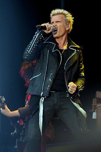 Billy Idol - Image: Billy IDOL 2012
