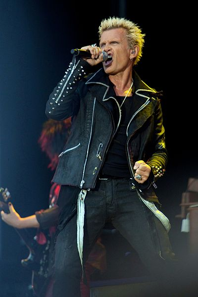 Picture of a band or musician: Billy Idol