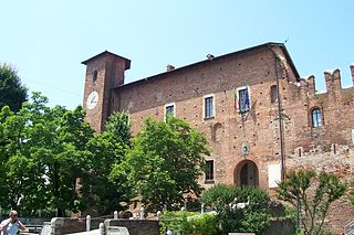 Visconti Castle (Binasco) castle in Binasco, Italy