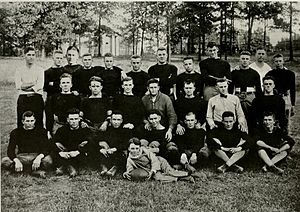 1920 Vanderbilt Commodores football team - The Panthers football team.