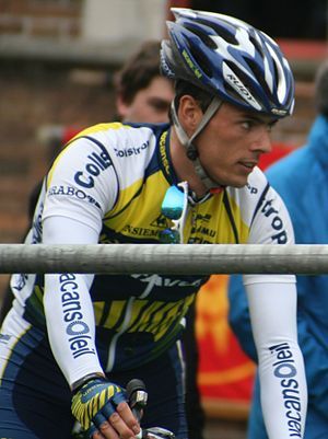 Björn Leukemans - Leukemans at the 2009 Tour of Flanders.