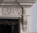 Blair-Lee dining room fireplace detail, Blair House, located across from the White House, Washington, D.C LCCN2010719220.tif