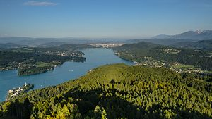 Wörthersee - View from Pyramidenkogel