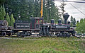 Bloedel Stewart & Welch steam locomotive 1 Shay at Forest Museum Duncan BC 16-Jul-1995.jpg