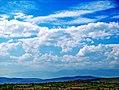 Blue sky over Radišani.jpg