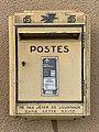 Boîte Lettres Poste Route Roche - Solutré-Pouilly (FR71) - 2021-03-02 - 1.jpg