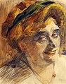 Boccioni - Ritratto della signora Maffi, 1910.jpg
