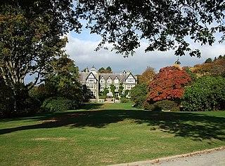 Eglwysbach Village in Wales, Britain