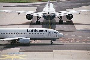 """Boeing 737-300 """"Goslar"""""""