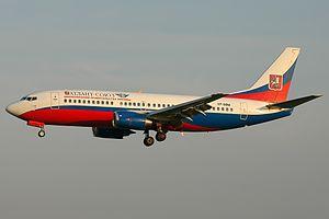 Atlant-Soyuz Airlines - Image: Boeing 737 347, Atlant Soyuz Airlines AN1634473