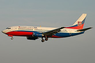 Atlant-Soyuz Airlines - Image: Boeing 737 347, Atlant Soyuz Airlines AN1634473