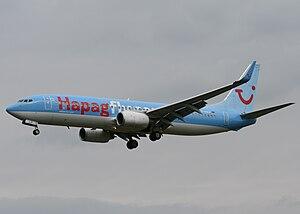 Hapag-Lloyd Flug - Hapagfly Boeing 737-800