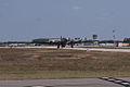 Boeing B-17G-85-DL Flying Fortress Nine-O-Nine Landing Taxi 05 CFatKAM 09Feb2011 (14983568212).jpg