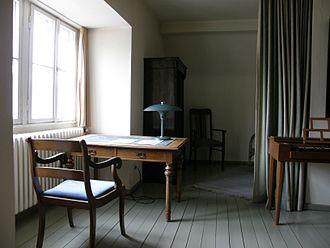 Dietrich Bonhoeffer - Dietrich Bonhoeffer's study