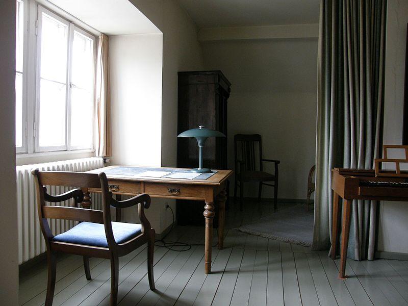 Ruang belajar Dietrich Bonhoeffer