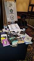 BookSwapping at Wikimania 2018 20180722 151806 (30).jpg