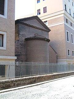 San Lorenzo in Piscibus church building in Rome, Italy