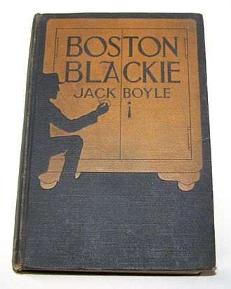 Boston Blackie - First edition of the short story collection Boston Blackie (1919)