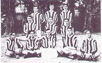 Botafogo de Futebol e Regatas - The 1906 football team.