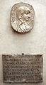 Bottega fiorentina, ritratto di beata umiliana de' cerchi e lapide 1646.JPG