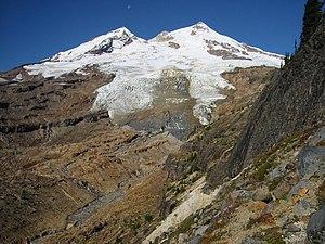 Boulder Glacier (Washington) - Boulder Glacier on the southeast slope of Mount Baker
