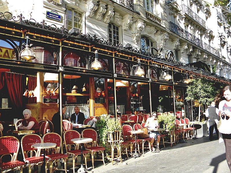 File:Boulevard du Montparnasse, Restaurant Le Dome, Paris.jpg