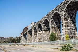 Boyne Viaduct - Image: Boyne Valley Viaduct, Drogheda (2012)
