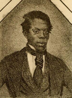 Master Juba - Portrait of Boz's Juba from an 1848 London playbill