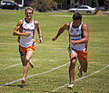 Brad Kahlefeldt and Ned Mortimer running in the 50m running sprint.jpg