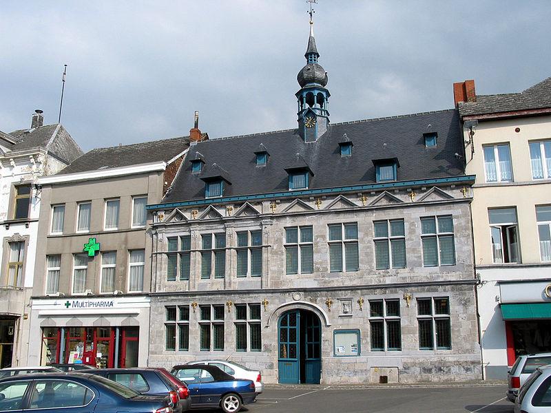 Braine-le-Comte (Belgique), l'hôtel d'Arenberg (XVIe siècle).