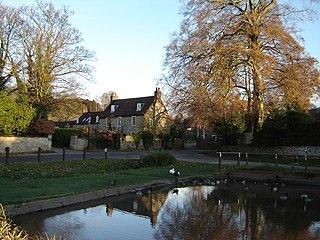 Brantingham village in the United Kingdom